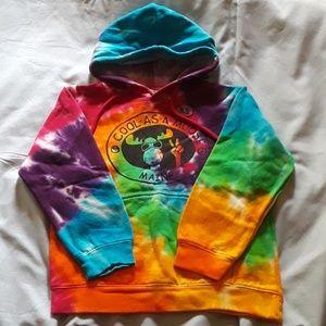 Tie Dye hoodie by Artforms